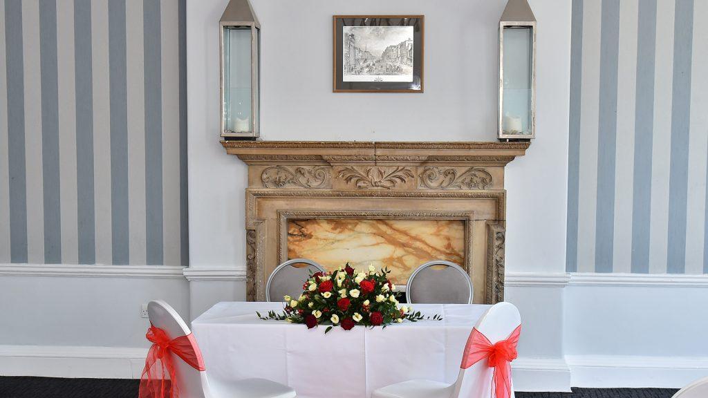 Wedding Venues in Hampshire Mercure Southampton Centre Dolphin Hotel Grand Affair 8