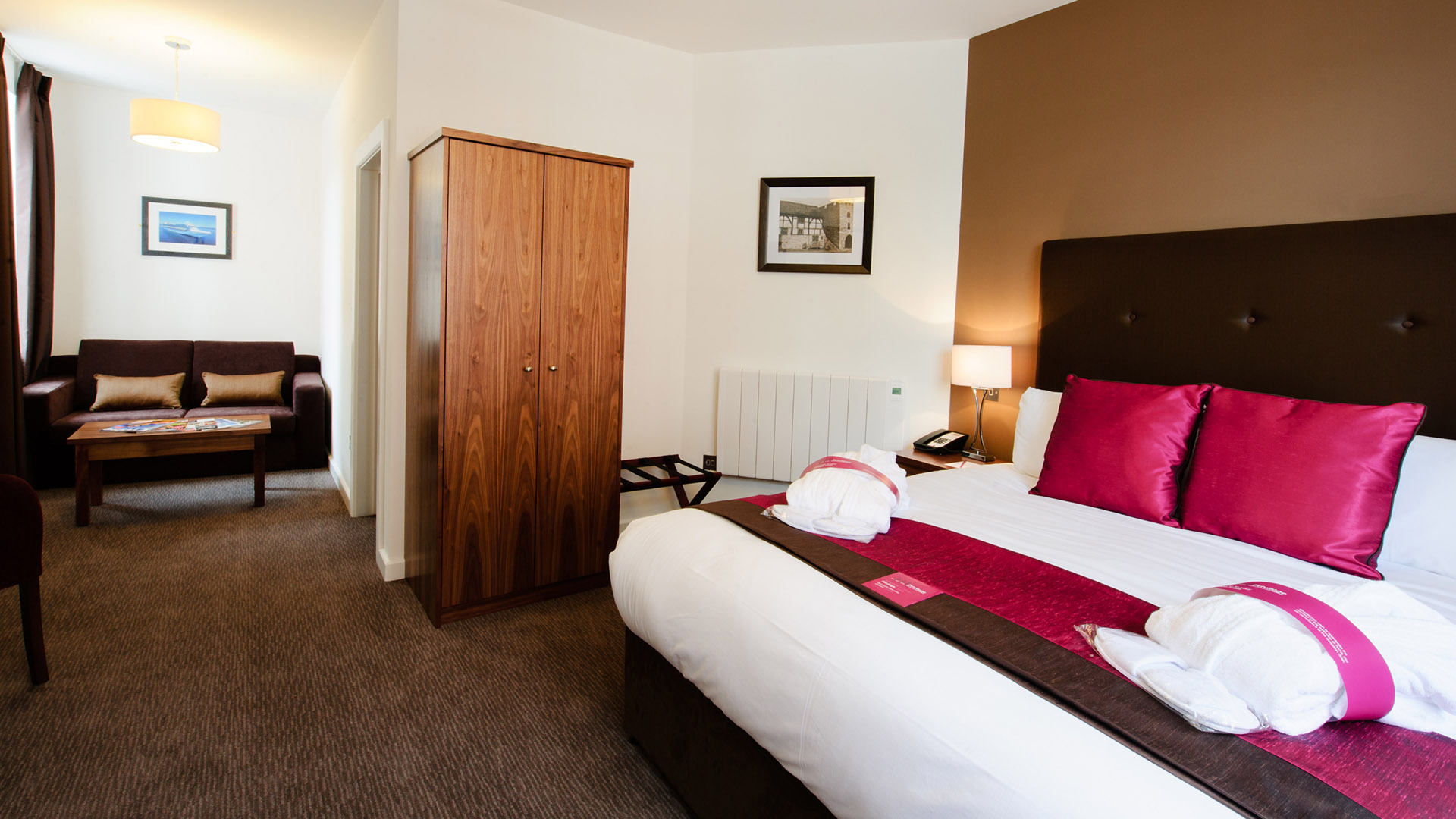 Mercure Southampton Centre Dolphin Hotel Privilege Bedrooms Arcadia Room