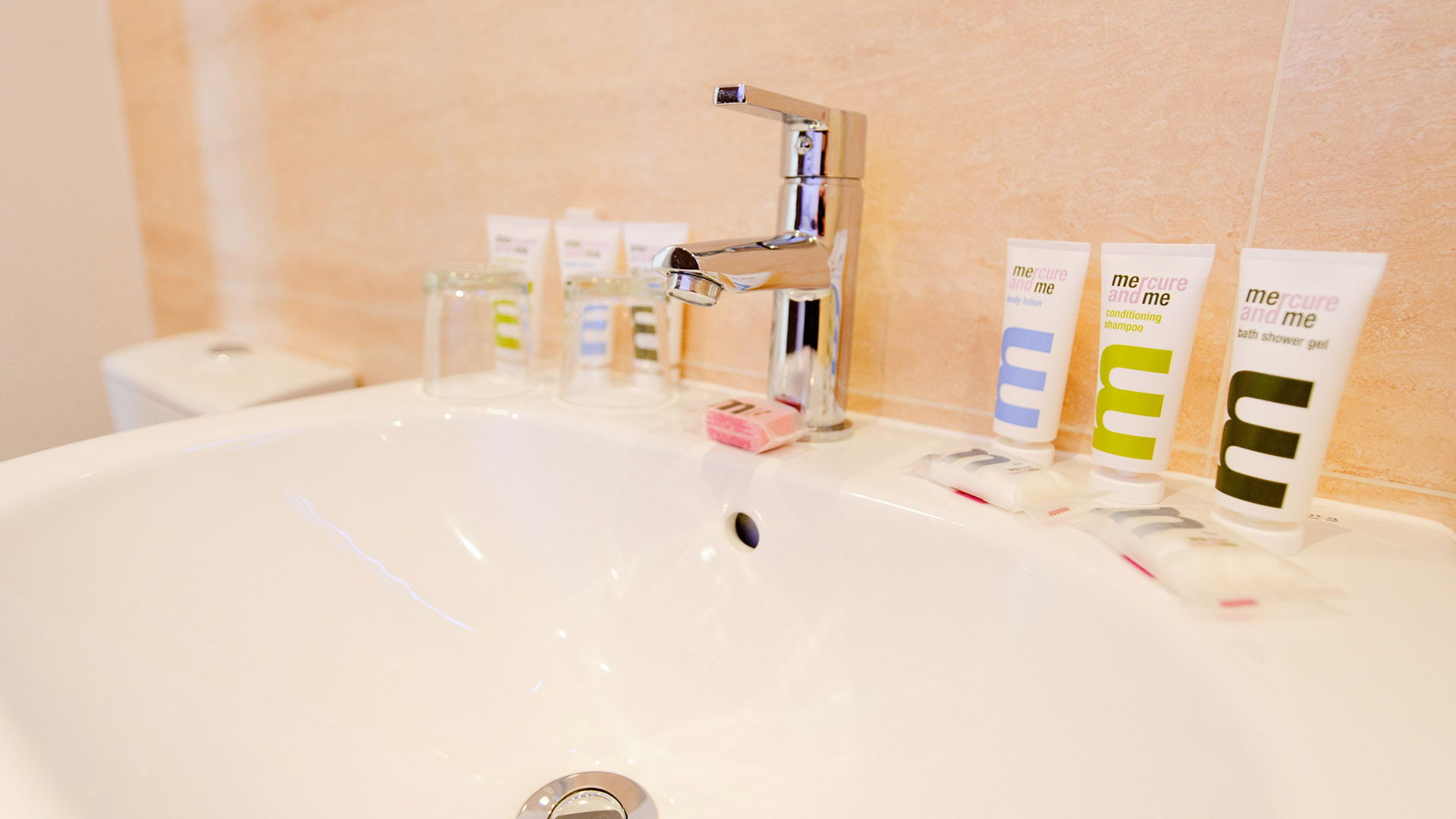 Mercure Southampton Centre Dolphin Hotel Privilege Bedrooms toiletries