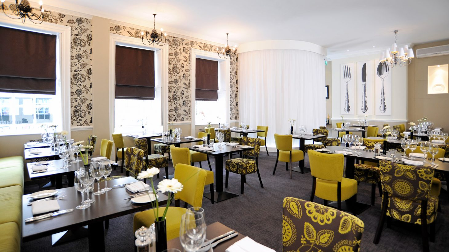 Mercure Southampton Centre Dolphin Hotel Southampton Award winning Signature Restaurant