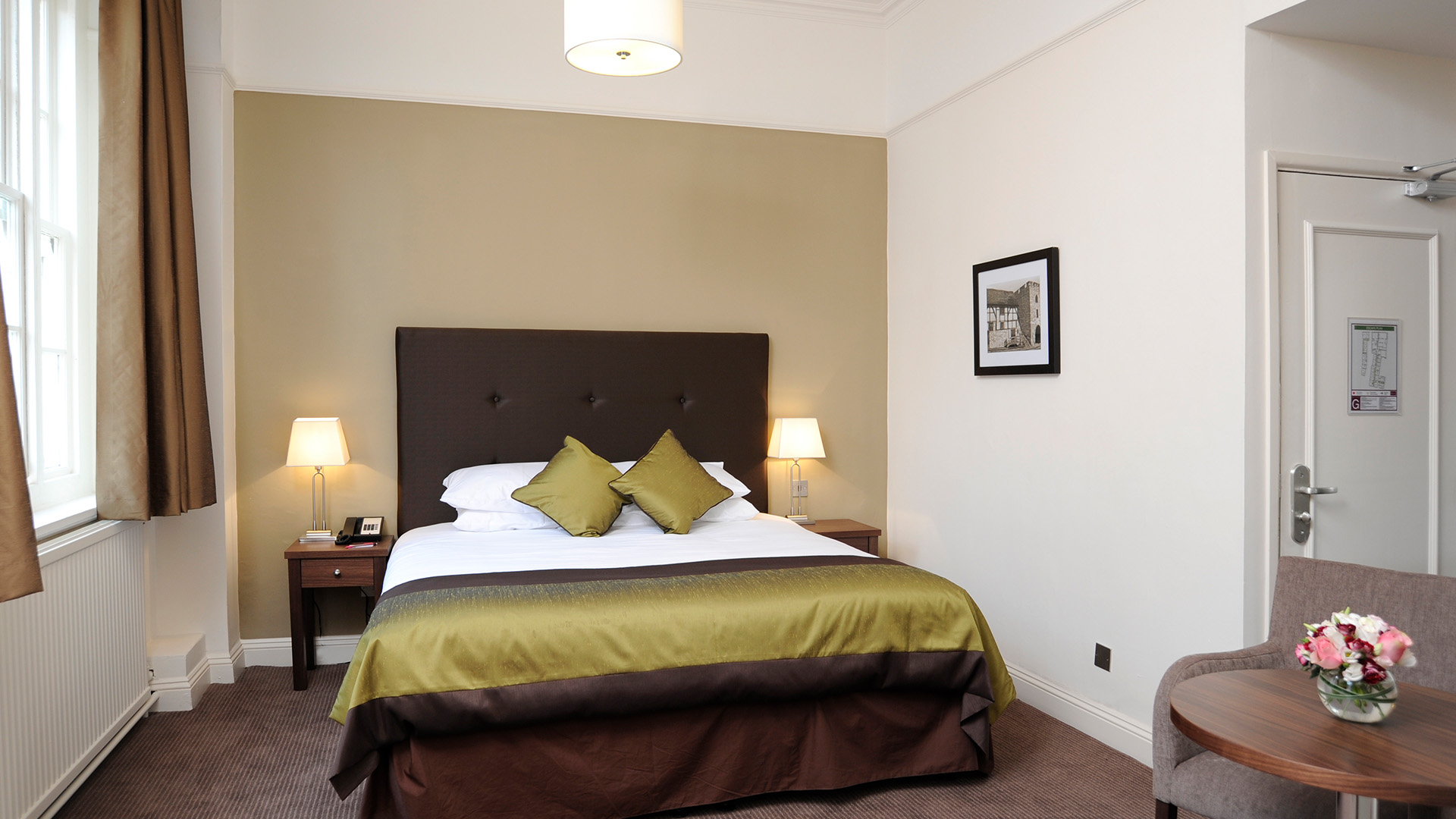 Mercure Southampton Centre Dolphin Hotel Southampton Double room 1