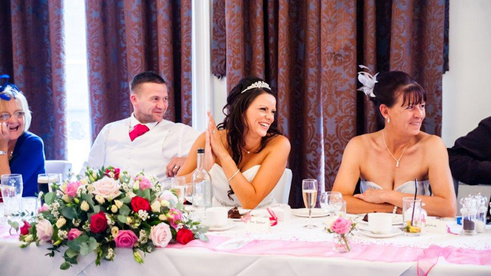 Wedding Venues in Hampshire Mercure Southampton Centre Dolphin Hotel Grand Affair 14