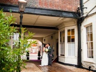 Wedding Venues in Hampshire Mercure Southampton Centre Dolphin Hotel winter wedding venues 1