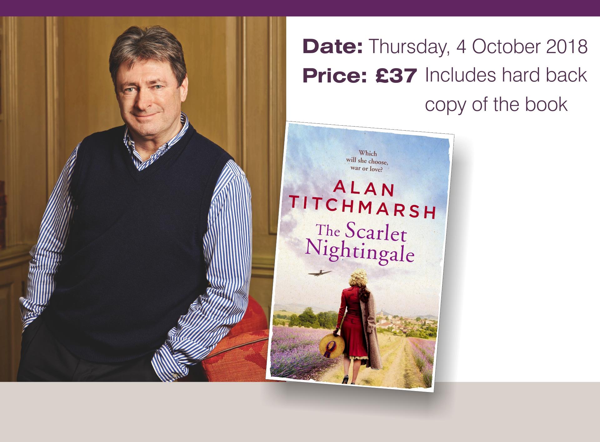 The Sarlet Nightingale by Alan Titchmarsh