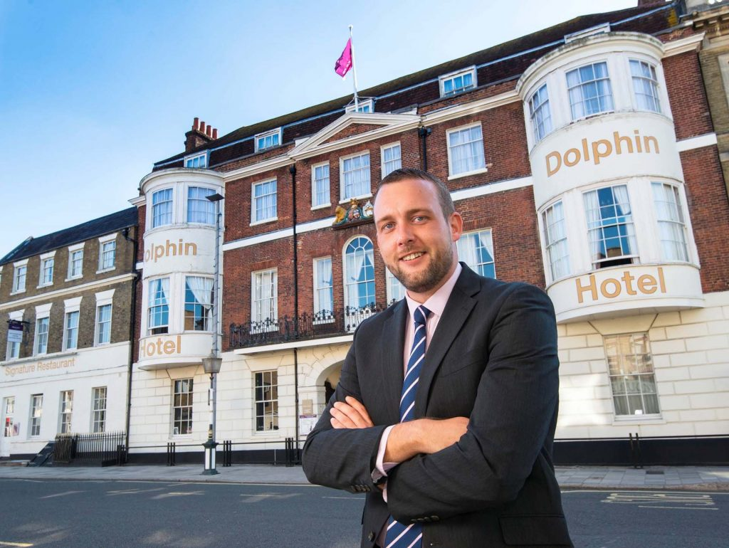 Dan Wilson General Manager at the Mercure Southampton Centre Dolphin Hotel