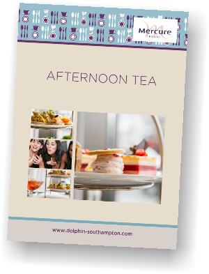 Mercure Southampton Centre Dolphin Hotel Afternoon Tea A5 September 2018