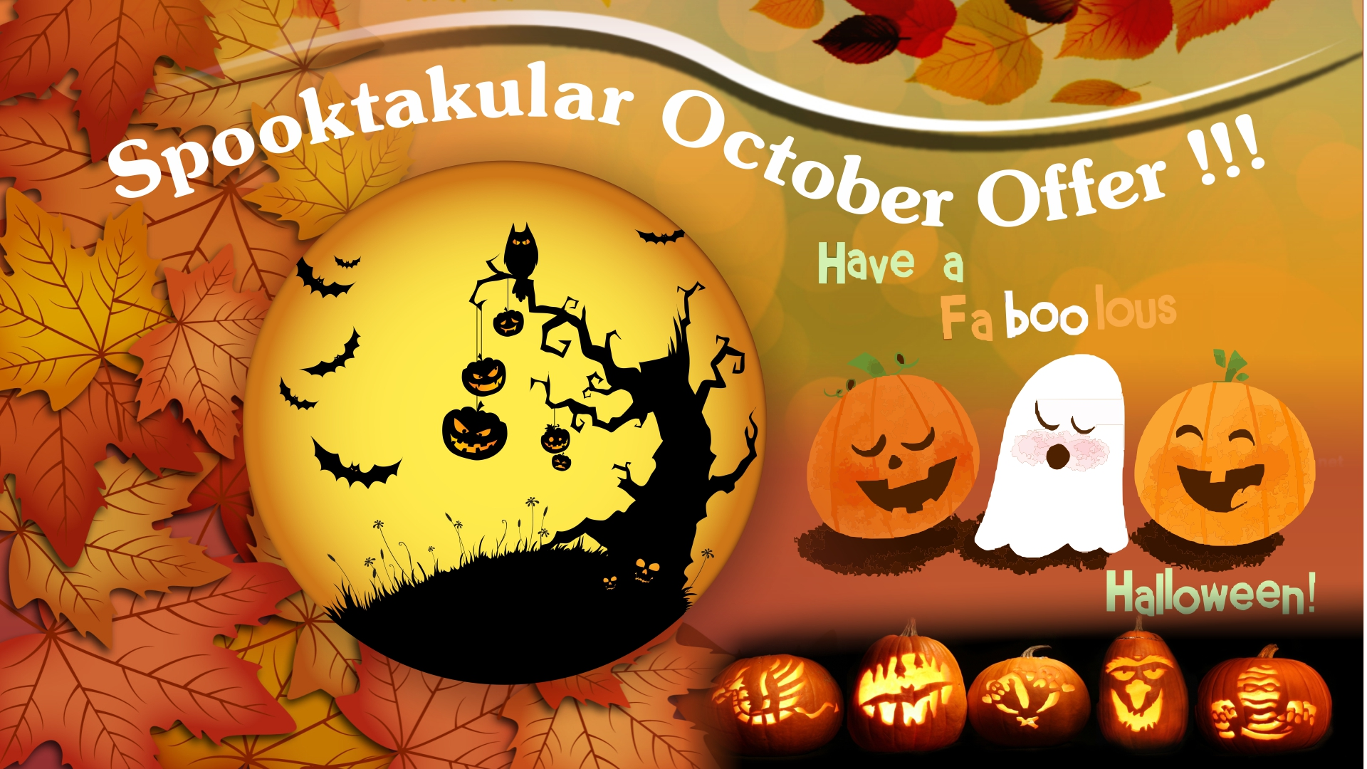 Spooktakular October offer from the Mercure Southampton Centre Dolphin Hotel