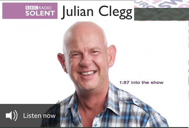BBC Radio Solent Julian Clegg