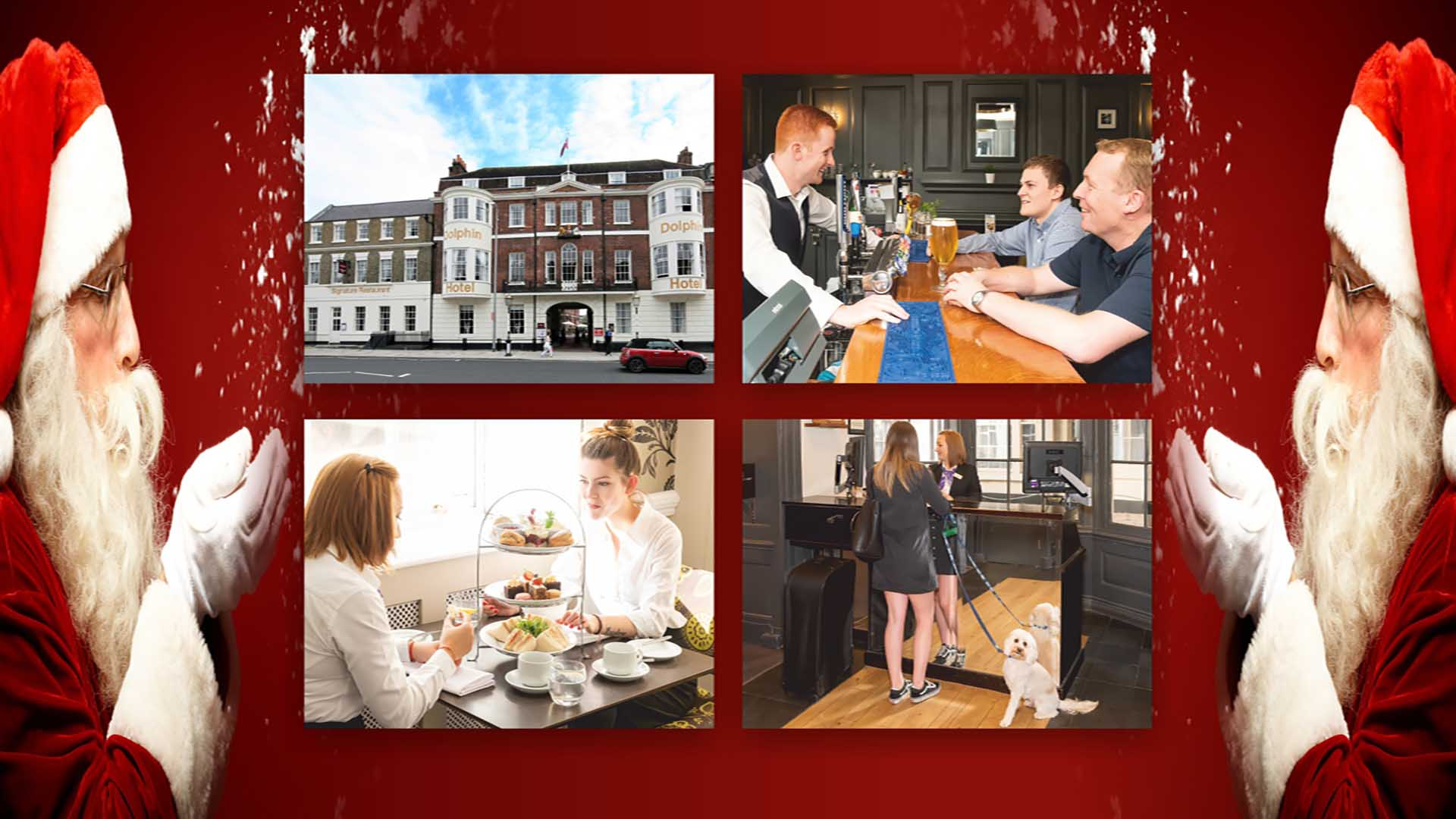Christmas Bed and Breakfast offers for Southampton Mercure Dolphin Hotel