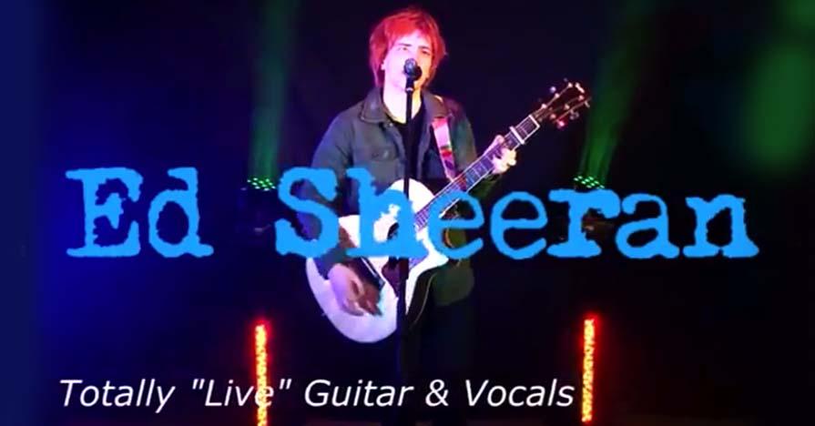 Mercure Southampton Centre Dolphin a night Ed Sheeran Tribute act