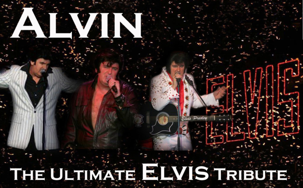 Alvin the Ultimate Elvis Tribute at The Dolphin Hotel Southampton
