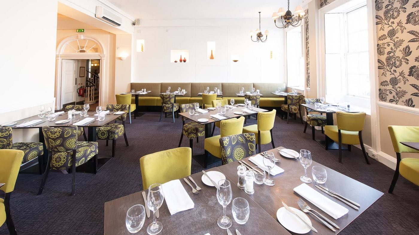 The best Restaurant in Southampton Nelson's Bar at Mercure Southampton Centre Dolphin Hotel Southampton 2020