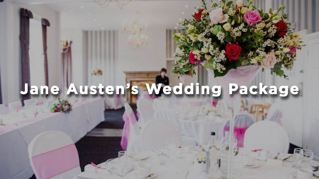 Jane Austen's Wedding Package at The Mercure Dolphin Southampton