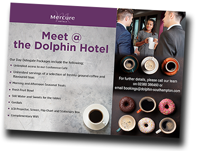 Mercure Southampton Centre Dolphin Hotel Conference Cafe 2021